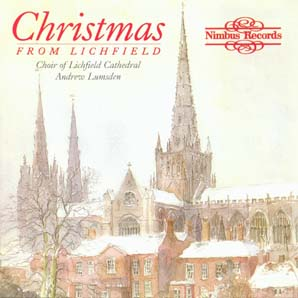 Christmas from Lichfield album cover