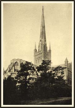 Norwich Cathedral. photograph taken in1905