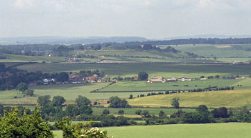 A view from Old Sarum